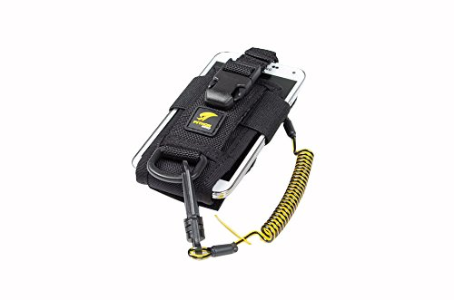 3M DBI-SALA Fall Protection For Tools,1500089,Adj Radio Holster Combo w/Clip2Loop Coil andMicro D-Ring,Size To Any Portable Radio/Small Device,Mount To Harness/Belt by 3M Personal Protective Equipment