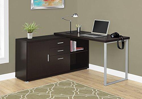 Cappuccino Monarch Solid Wood (Monarch Specialties Computer Desk - 60