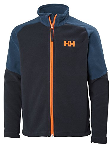 Helly Hansen Jr Daybreaker 2.0 Fleece Jacket, Navy, Size 16