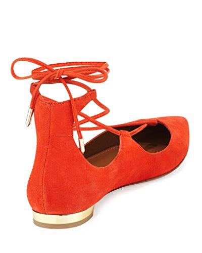 chiuse Scarpe Kolnoo Scarpe chiuse Donna Orange Kolnoo Donna PHXRIOnx