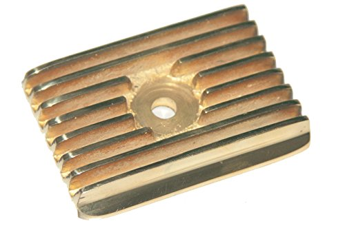 Enfield County Royal Enfield Vintage Flanged Brass Tappet Cover Standard Models ()
