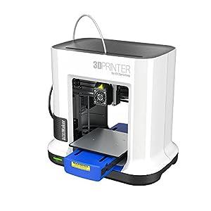 "XYZprinting 3FM1XXUST1F [ Color] DA Vinci Minimaker 3D PRINTER - 6""X 6""X6"" Built Volume (Blue/White) by XYZ Printing Inc. - Non-Returnable Product"