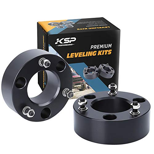 "KSP Strut Spacers 2.5 inch Front Leveling Lift Kits for Dodge Ram 1500 4WD Raise The Front of Ram 1500 Pickup 2.5"" 2006-2020"