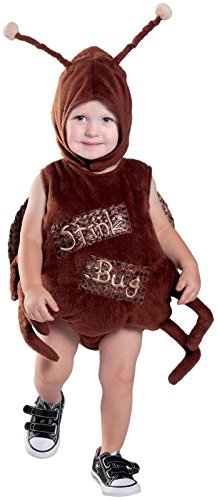 [Princess Paradise Baby Stink Bug Deluxe Costume, As Shown, 6 to 12 Months] (Stink Bug Halloween Costume)