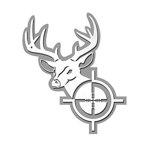 Pilot Automotive IP-3079 Deer Head Emblem (Deer Emblem)