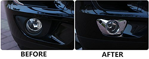 Chrome Front Fog Light Cover Trim