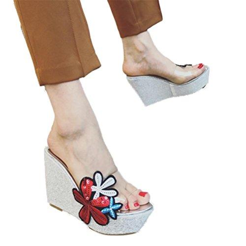 De Toe Trois Rangées Fête Chaussures Été Open black De Hauts Boucle Talons Boucles À Confortable XIE Ceinture Femmes Creux Sandales Respirant wEOxC66qU