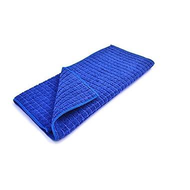 Microfiber Dish Drying Mat 15x20 Inch, Blue
