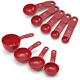 KitchenAid Measuring Cups and Spoons Set (Red)