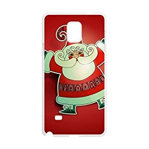 Cute Christmas White Phone For SamSung Galaxy S5 Mini Case Cover