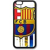 Coque silicone BUMPER souple IPHONE 6/6s - Barcelone BARCA barcelona CASE tpu DESIGN + Film de protection INCLUS