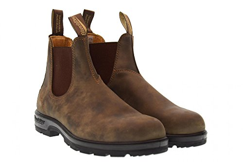 BROWN beatles RUSTIQUE homme 585 Blundstone FBq4gnx