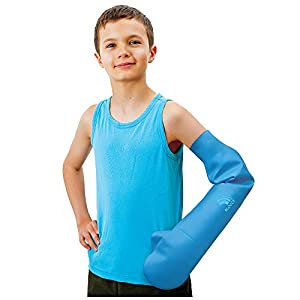 Bloccs Protezione impermeabile gesso integrale braccio per bambini, 1 pezzo, 11-14 anni 1 spesavip