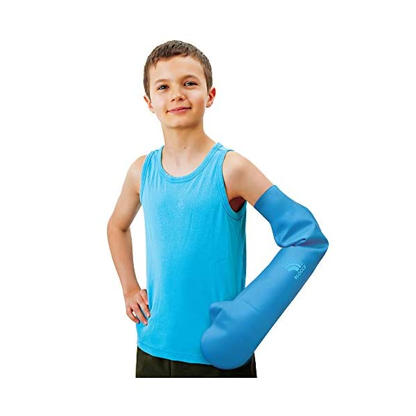 Bloccs Bambini Protezione impermeabile per ingessatura integrale braccio 1 spesavip