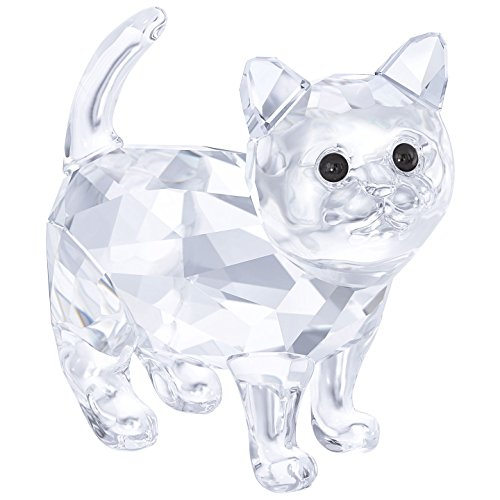Swarovski Crystal KITTEN - BABY CAT CLEAR CRYSTAL 2017 #5269815