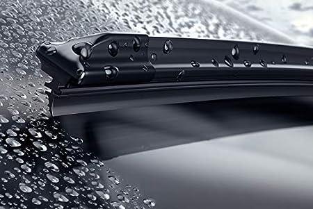 Valeo Juego de 2 escobillas de limpiaparabrisas Especiales para VWGolf 6: Amazon.es: Coche y moto
