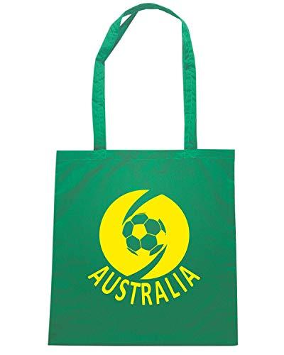 Shopper WC0031 Verde AUSTRALIA Borsa Shirt Speed OwCq11