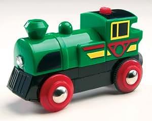 Brio 33222 - Locomotora Speedy Green a pilas