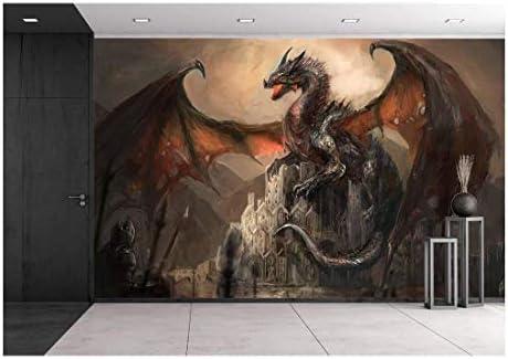wall26 Dragon Removable Self Adhesive Wallpaper product image