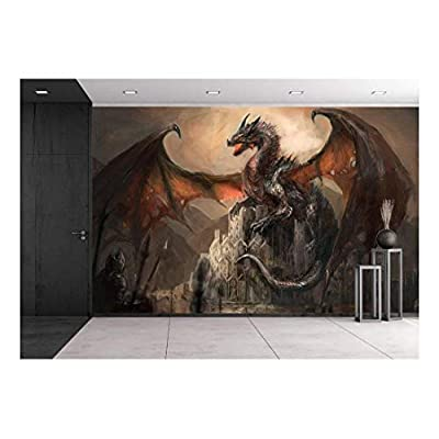 Astonishing Object of Art, War with The Dragon on Castle, That You Will Love