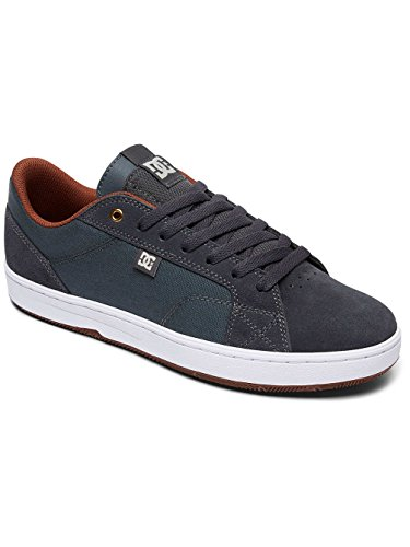 DC Men's Astor Low-Top Sneakers Grey/White pictures 9rGFbzx