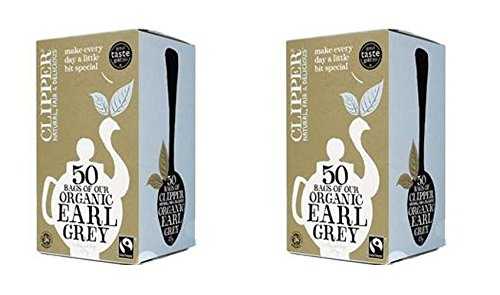 (2 PACK) - Clipper Earl Grey| 50 Bags |2 PACK - SUPER SAVER - SAVE MONEY