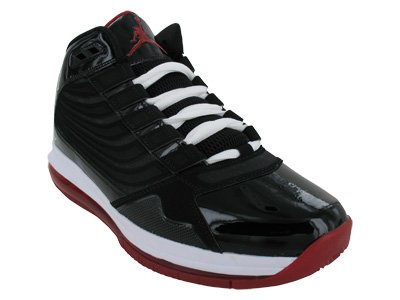 quality design bba0e 74c4e Nike Men s Air Jordan Big Ups 467893 001 Black White Varsity Red (Men 11.5, Black  White Varsity Red)  Amazon.ca  Shoes   Handbags