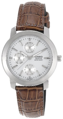 Casio MTP1192E 7A Brown Leather Quartz