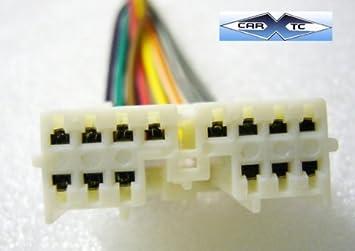 stereo wire harness oem mitsubishi outlander 03 04 05 (car radio wiring  insta.: car electronics - amazon.com  amazon.com