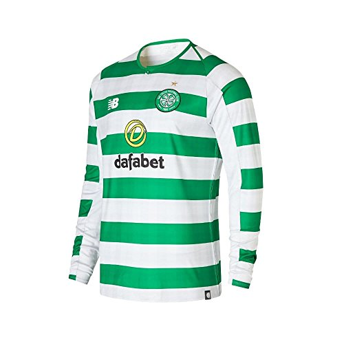 Celtic Home Jersey - New Balance 2018-2019 Celtic Home Long Sleeve Football Soccer T-Shirt Jersey