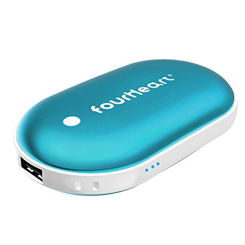E-TECHING 5200mAh Winter Hand Warmer Heat Bank Power Charger