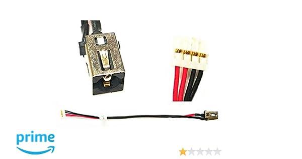 DC Jack Power Cable Wire Toshiba Satellite L50-C L55-C C55-C S55-C DD0BLQAD000