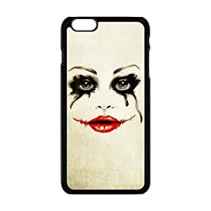 Masq Personalized Protective Case For IPhone 6 PLUS TPU Rubber Case - Joker and Harley Quinn