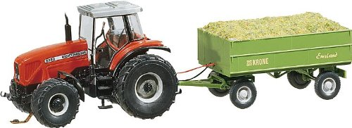 Faller 161536 MF Tractor w/Trailer Car System Model ()