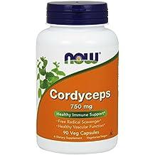 NOW Cordyceps 750 mg,90 Veg Capsules