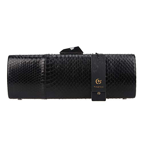 Evening Ladies Snakeskin Party And Black Formal Occasion Bonjanvye Bag wEqHHf