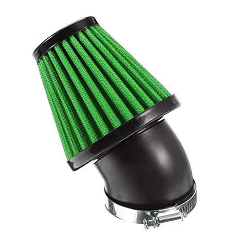 35mm Motorcycle Air Filters Mushroom Head Cleaner (Green):