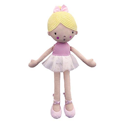Applesauce Plush Blonde Ballerina Doll, Charlotte