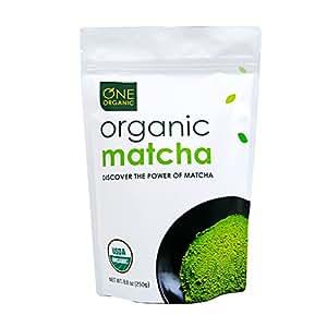ONE ORGANIC Matcha Green Tea Powder (250g) - USDA Certified Organic