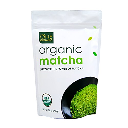 (ONE ORGANIC Matcha Green Tea Powder (250g) - USDA Certified Organic)