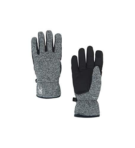 Spyder Women's Bandita Stryke Glove, Black/Black/Black, Medium
