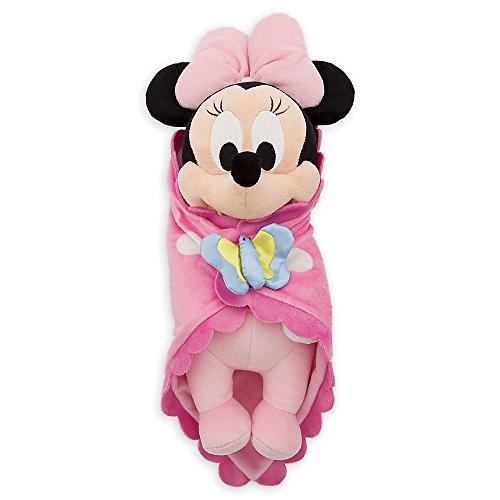 Disney Babies Minnie Mouse Plush Doll & Blanket 10 Inch