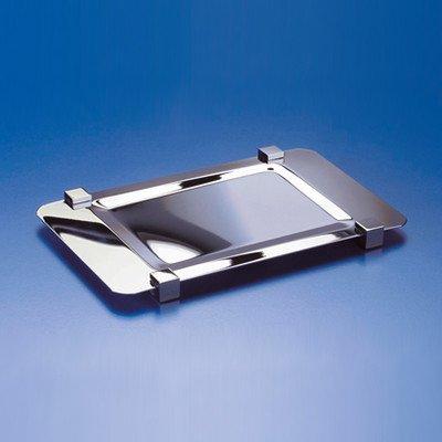 Windisch Windisch 51217-CRO-637509845575 Trays Collection Bathroom Tray, Chrome/Gold by Windisch