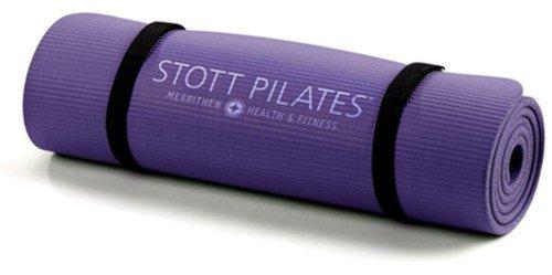 STOTT PILATES Pilates Express Mat (Deep Violet) 0.4 inch / 10 mm