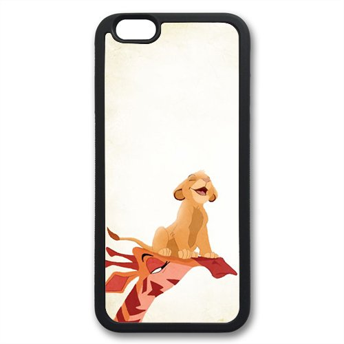 Coque silicone BUMPER souple IPHONE 5c - Roi Lion Simba Pumba the Lion King motif 3 DESIGN case+ Film de protection OFFERT