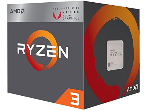 AMD Ryzen 3 2200G Processor with Radeon Vega 8 Graphics