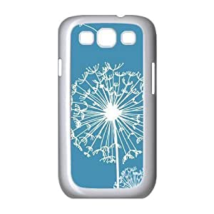 Customized Cover Case with Hard Shell Protection for Samsung Galaxy S3 I9300 case with Dandelion Art lxa#427163