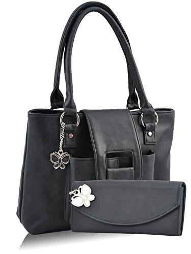 Butterflies Women's Handbag 13 x 10 x 3 Black by Butterflies