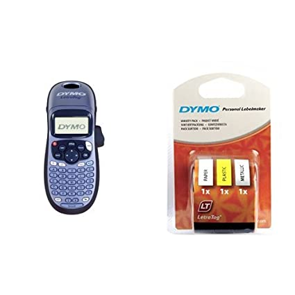 DYMO - Pack impresora de etiquetas LetraTag LT-100H + 3 ...
