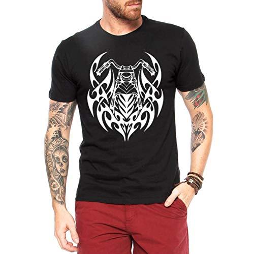 Camiseta Criativa Urbana Moto Tribal Preto G